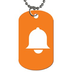 Bell Orange Copy Dog Tag (Two Sides)