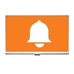 Bell Orange Copy Business Card Holders
