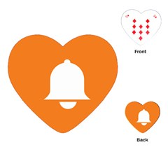 Bell Orange Copy Playing Cards (Heart)