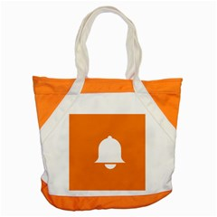 Bell Orange Copy Accent Tote Bag