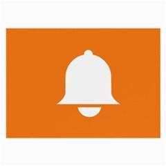 Bell Orange Copy Large Glasses Cloth (2-Side)