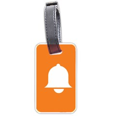 Bell Orange Copy Luggage Tags (Two Sides)
