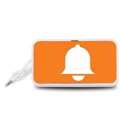 Bell Orange Copy Portable Speaker (White)