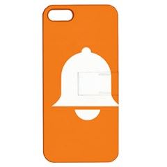 Bell Orange Copy Apple iPhone 5 Hardshell Case with Stand