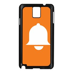 Bell Orange Copy Samsung Galaxy Note 3 N9005 Case (Black)