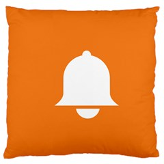Bell Orange Copy Standard Flano Cushion Case (One Side)