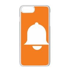 Bell Orange Copy Apple Iphone 7 Plus White Seamless Case