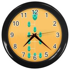 A Community Manager Los Que Aspirants Wall Clocks (Black)