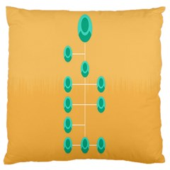 A Community Manager Los Que Aspirants Large Cushion Case (One Side)