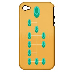 A Community Manager Los Que Aspirants Apple iPhone 4/4S Hardshell Case (PC+Silicone)