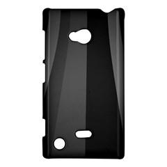 Black Minimalistic Gray Stripes Nokia Lumia 720