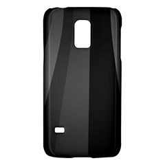Black Minimalistic Gray Stripes Galaxy S5 Mini