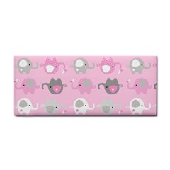 Animals Elephant Pink Cute Cosmetic Storage Cases