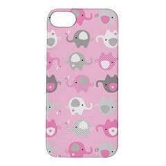 Animals Elephant Pink Cute Apple iPhone 5S/ SE Hardshell Case