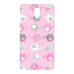 Animals Elephant Pink Cute Samsung Galaxy Note 3 N9005 Hardshell Back Case
