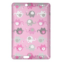 Animals Elephant Pink Cute Amazon Kindle Fire HD (2013) Hardshell Case