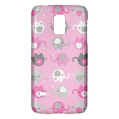 Animals Elephant Pink Cute Galaxy S5 Mini