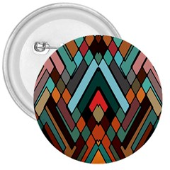 Abstract Mosaic Color Box 3  Buttons