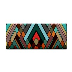 Abstract Mosaic Color Box Cosmetic Storage Cases