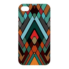Abstract Mosaic Color Box Apple iPhone 4/4S Hardshell Case