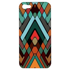 Abstract Mosaic Color Box Apple iPhone 5 Hardshell Case