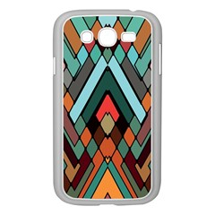 Abstract Mosaic Color Box Samsung Galaxy Grand DUOS I9082 Case (White)