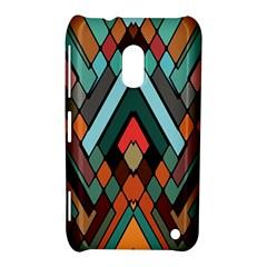 Abstract Mosaic Color Box Nokia Lumia 620