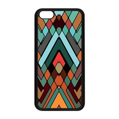 Abstract Mosaic Color Box Apple iPhone 5C Seamless Case (Black)