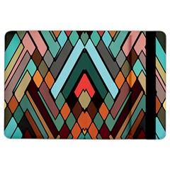Abstract Mosaic Color Box iPad Air 2 Flip