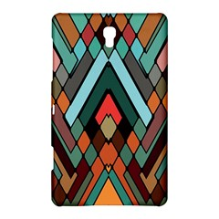 Abstract Mosaic Color Box Samsung Galaxy Tab S (8.4 ) Hardshell Case