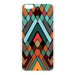 Abstract Mosaic Color Box Apple Seamless iPhone 6 Plus/6S Plus Case (Transparent)