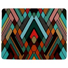 Abstract Mosaic Color Box Jigsaw Puzzle Photo Stand (Rectangular)