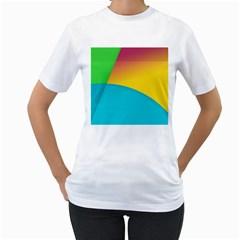 Bok Women s T-Shirt (White) (Two Sided)