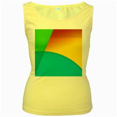 Bok Women s Yellow Tank Top