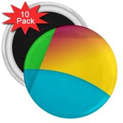 Bok 3  Magnets (10 Pack)