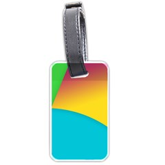 Bok Luggage Tags (One Side)