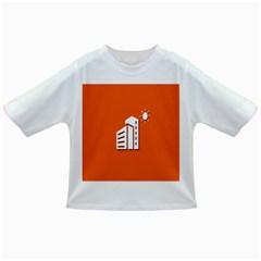 Building Orange Sun Copy Infant/Toddler T-Shirts