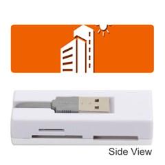Building Orange Sun Copy Memory Card Reader (Stick)