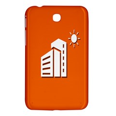 Building Orange Sun Copy Samsung Galaxy Tab 3 (7 ) P3200 Hardshell Case