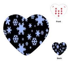 Blue Black Resolution Version Playing Cards (Heart)