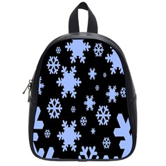 Blue Black Resolution Version School Bags (Small)