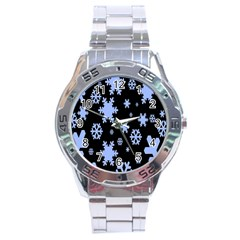Blue Black Resolution Version Stainless Steel Analogue Watch