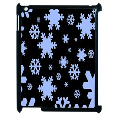 Blue Black Resolution Version Apple iPad 2 Case (Black)