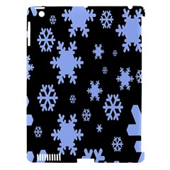 Blue Black Resolution Version Apple iPad 3/4 Hardshell Case (Compatible with Smart Cover)