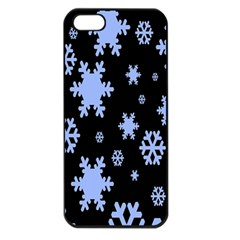 Blue Black Resolution Version Apple iPhone 5 Seamless Case (Black)