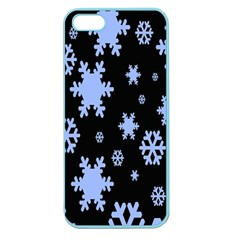 Blue Black Resolution Version Apple Seamless iPhone 5 Case (Color)