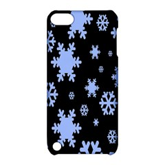 Blue Black Resolution Version Apple iPod Touch 5 Hardshell Case with Stand