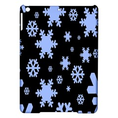Blue Black Resolution Version iPad Air Hardshell Cases