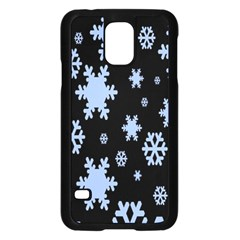 Blue Black Resolution Version Samsung Galaxy S5 Case (Black)