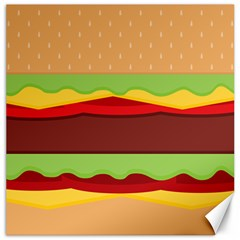 Cake Cute Burger Copy Canvas 12  x 12